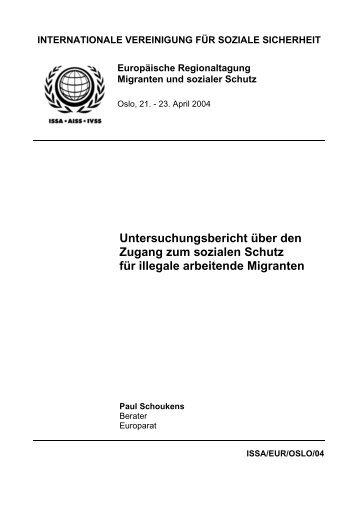 association international de la securite sociale - International Social ...