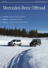 02-2007 - Mercedes-Benz Offroad