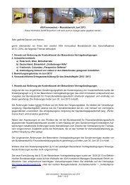 AXA Immoselect – Monatsbericht Juni 2013 Sehr geehrte Damen ...