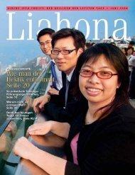 Juni 2008 Liahona - Kirche Jesu Christi der Heiligen der Letzten Tage