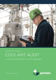 COOLANT AUDIT - Innogrind.