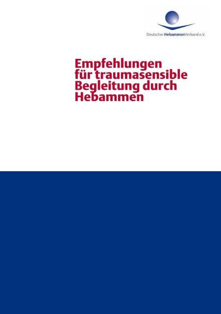 Empfehlungen für traumasensible Begleitung durch ... - Herztoene.net