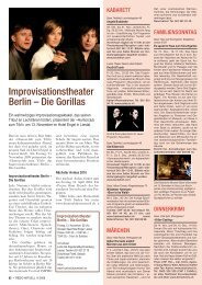 Theater - Regio aktuell