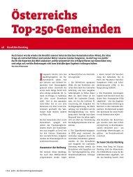 österreichs top-250-Gemeinden