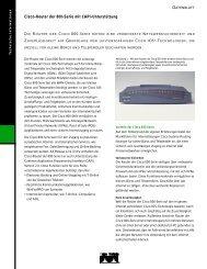 Cisco-Router der 800-Serie mit Capi-Unterstützung