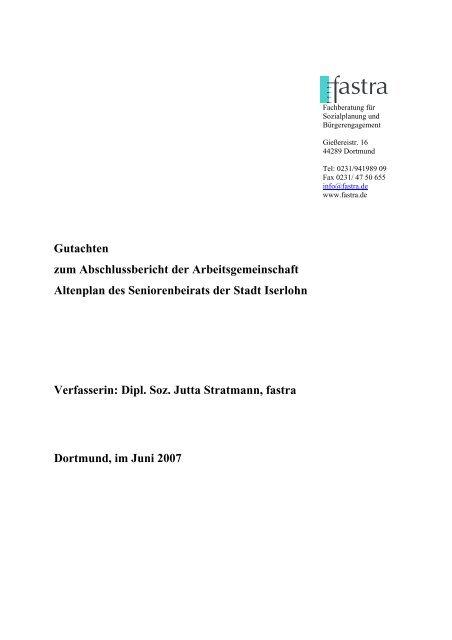 12. Gutachten_IS_August2007.pdf - Iserlohn