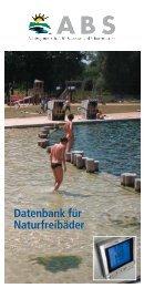 Datenbank für Naturfreibäder - Abs-naturbad.de
