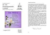 Ausgabe 1-März-Mai-2013 - St. Viti Kirchengemeinde Leiferde