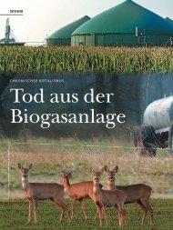 Tod Aus Der Biogasanlage - Wild und Hund