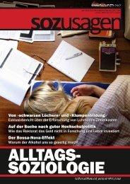 Alltagssoziologie-Ausgabe - Sozusagen