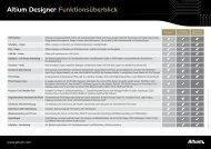 Altium Designer Funktionsüberblick
