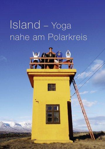 Island – Yoga nahe am polarkreis - innrikraftur.is