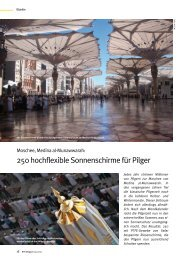 250 hochflexible Sonnenschirme für Pilger - Rts-magazin.de