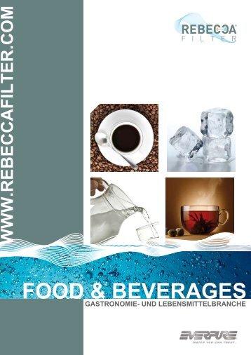 FOOd & BEvERAgEs - Rebecca Filter