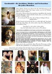 Garabandal – die furchtbare Sünden- und ... - Gottes Warnung