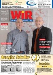 Europa-Tage 2010 - Das WIR-Magazin im Gerauer Land