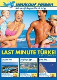LAST MINUTE TÜRKEI - Bentour Türkei Reisen