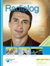 Radialog, Ausgabe 2/2010 - Radiologie Herrsching