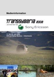 Die Transsyberia Rallye 2008 - Suzuki-presse.de