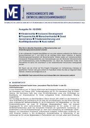 Newsletter 2/2009 - Ludwig Boltzmann Institut für Menschenrechte