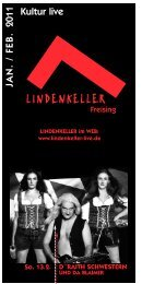 Programmheft Jan - Feb 2011 - Lindenkeller