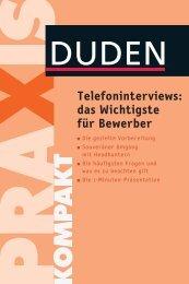 Telefoninterviews: das Wichtigste für Bewerber - Die Onleihe