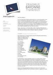 ERASMUS BAY ONNE Frankreich - Hochschule Ansbach