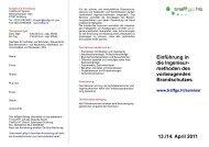 Programm - TraffGo HT GmbH