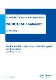 INDUCTICA Konferenz - ELANTAS