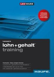 Leseprobe zum Titel: Lohn+Gehalt-Training - Die Onleihe