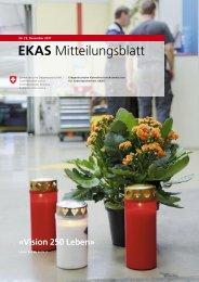 EKAS Mitteilungsblatt, Nr. 73, Dezembre 2011 - Safe at Work