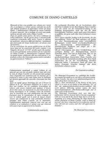 Deplian turistico (pdf) - Comune di Diano Castello