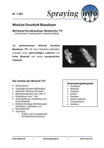 PDF Download - Spraying Systems Deutschland GmbH