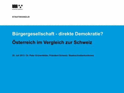 Präsentation Dr. Grünenfelder - Kommunalnet