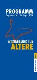september 2013 bis August 2014 - vhs Mainz