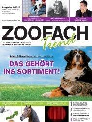 können Sie die komplette Ausgabe downloaden ... - ZooFach-Trend