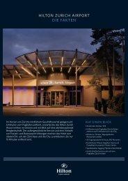Factsheet Hilton Zurich Airport (pdf - 596kb) - Apart-Hotel - operated ...