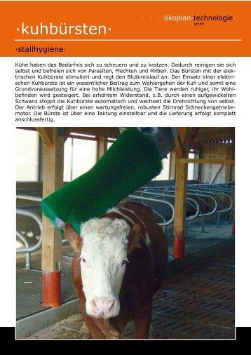 Produktdetails in PDF - Ökoplan Technologie GmbH