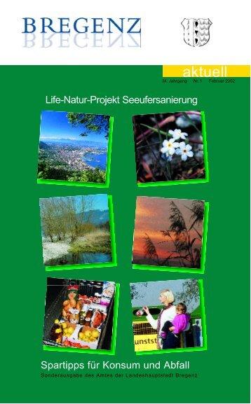 Umweltfolder - Bregenz