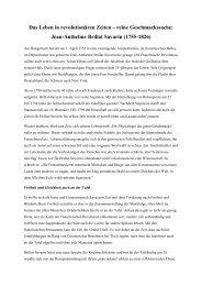 Erfahren Sie mehr über Brillat-Savarin und sein Werk (PDF)