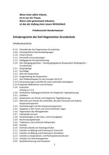 Schulprogramm KHGS - VHG Karl Hagemeister