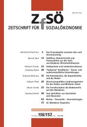 ZEITSCHRIFT FÜR SOZIALÖKONOMIE 156/157.