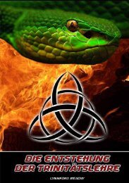 Die Entstehung der Trinitätslehre - Heart For Truth