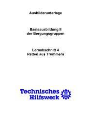 Retten aus Trümmern - THW Ortsverband Eschweiler