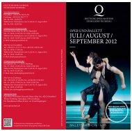 Spielplan JULI / SEPTEMBER 2012 - IOCO