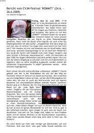 CVJM Festival KOMMT! – TEN SING Deutschland Festival, Kassel [pdf]