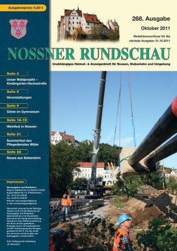 Oktober 2011 - Nossner Rundschau