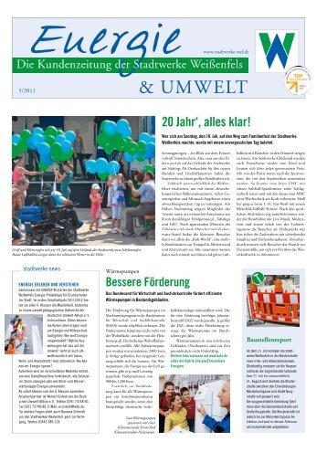 & UMWELT - Stadtwerke Weißenfels