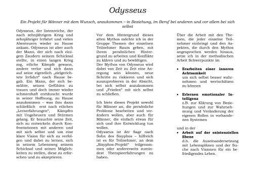 PDF Odysseus prospekt - Ulrich Großer