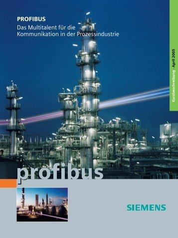 PROFIBUS - Das Multitalent für die Prozessindustrie
